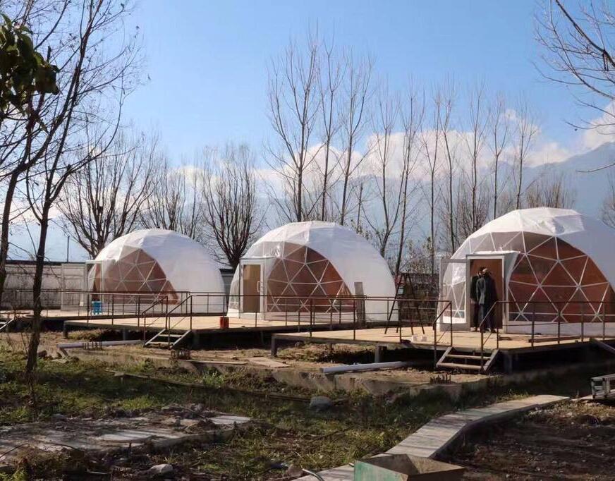 阿克苏球形篷房搭建-精致球形篷房搭建批发