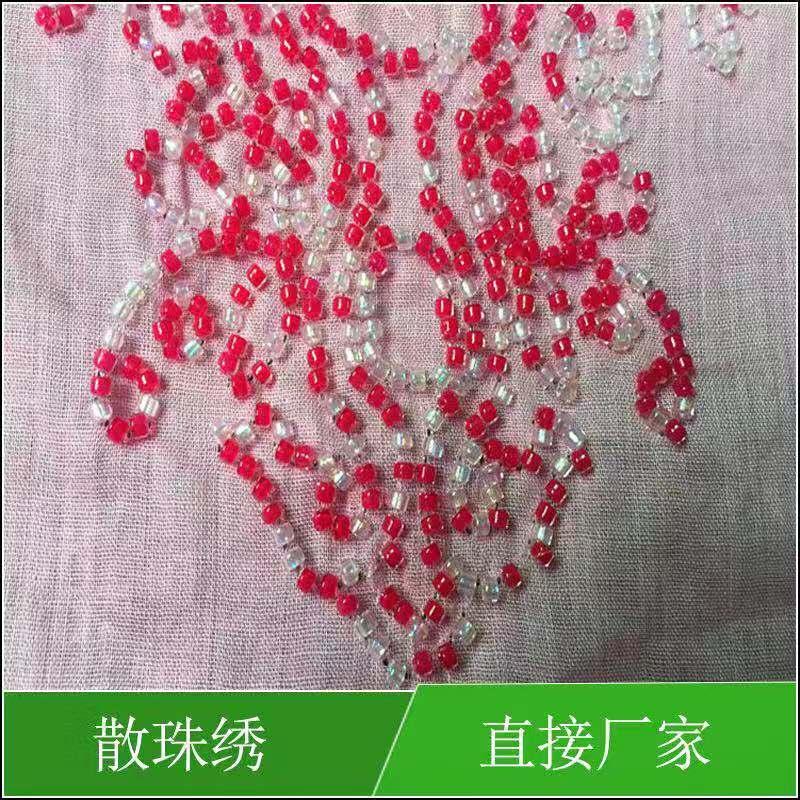 樟木头散珠绣工艺|东莞地区性价比高的散珠绣