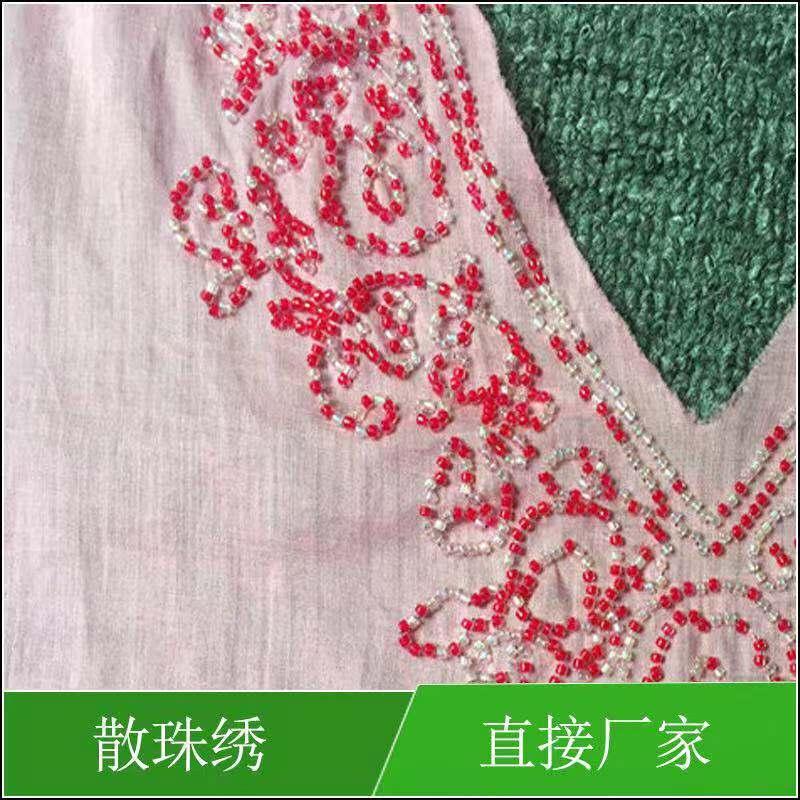 深圳散珠繡工廠-德邦仕提供新品散珠繡產品