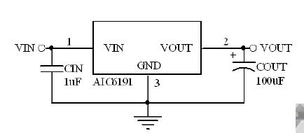 AIC6191保护敏感电子器件电源ic现货芯片