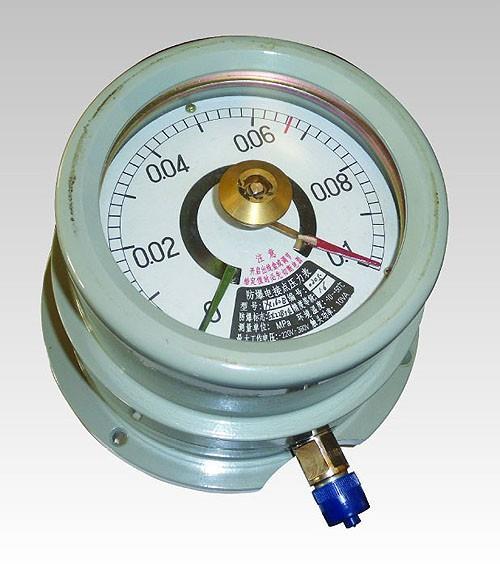 上儀電接點壓力表資料|YJTX-150B系列防爆電接點壓力表