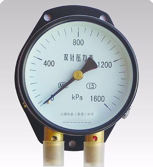 双针压力表|上仪YZS-102双针压力表价格