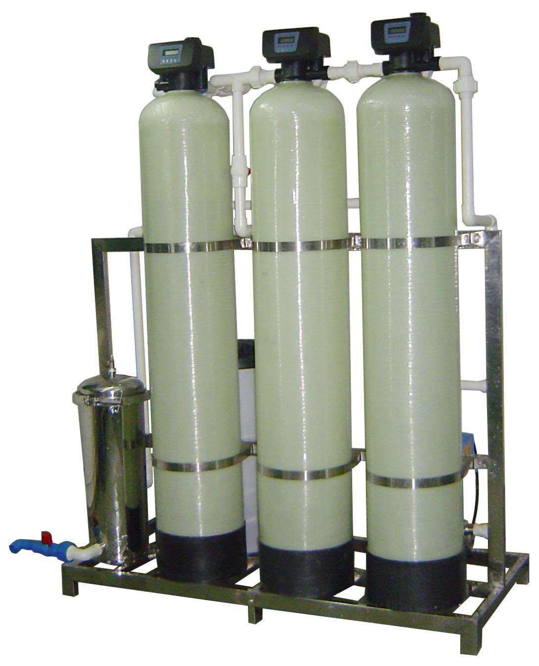 白銀軟化水設備