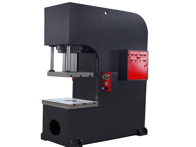 定制汽车后轴压装液压机高精密轴承压入机单臂油压机