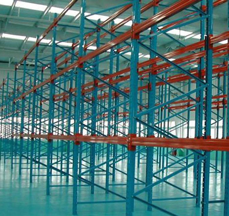 烟台贯通货架厂商推荐-烟台驶入式仓储货架低价批发