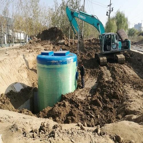 污水提升泵站//污水提升泵站生产厂家
