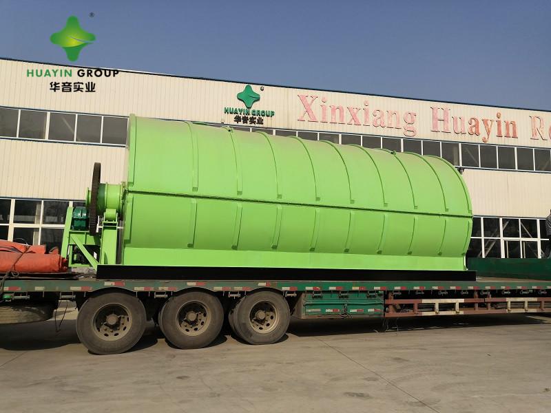 废橡胶炼油设备