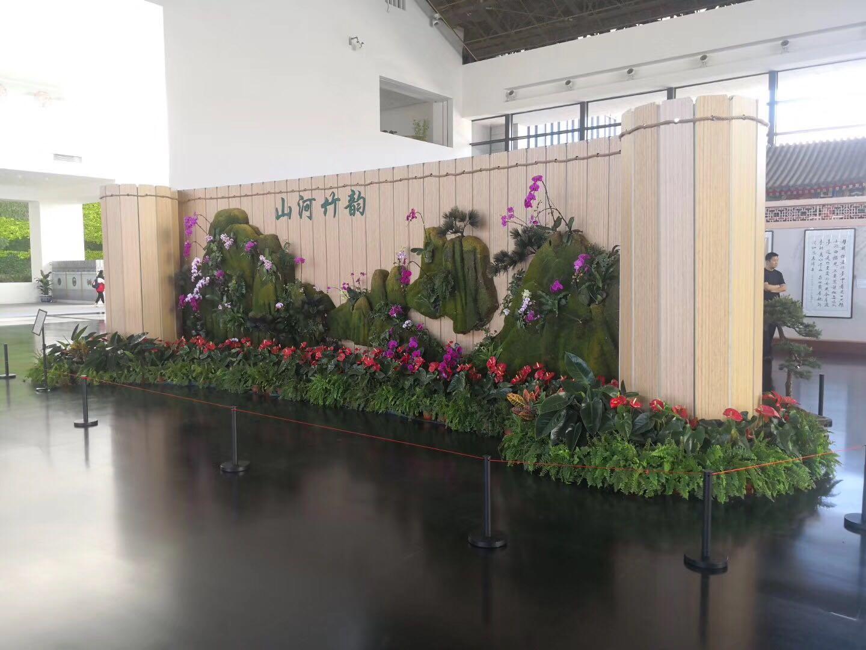 哈尔滨园林绿化认准哈尔滨优悦花卉-佳木斯花卉租摆价格