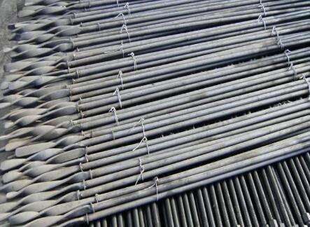 矿用支护麻花锚杆,支护麻花锚杆厂,麻花锚杆批发
