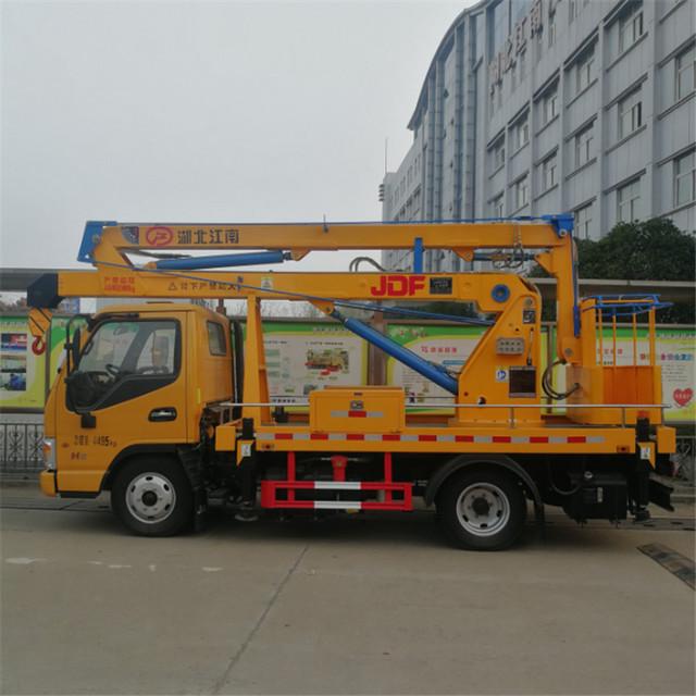 随州专业的江淮蓝牌12米高空作业车厂家 性价比高的江淮12米高空作业车报价