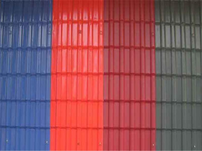 甘肅樹脂瓦-出售蘭州實惠好用的蘭州樹脂瓦