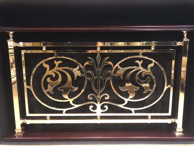 铜艺楼梯扶手-在哪能买到厂家直销铜铝护栏呢
