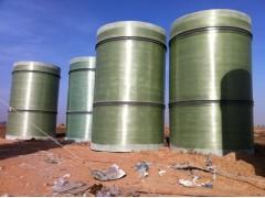 供氨法脱硫玻璃钢烟囱、脱硫塔 玻璃钢集液器 玻璃钢清洗水槽