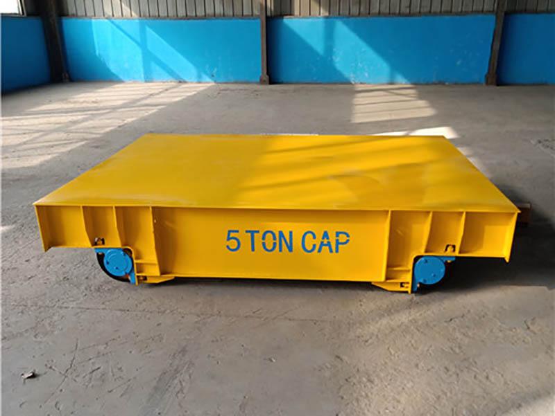 電動平板車-選專業電動軌道平車-就到河南智杰優搬運設備