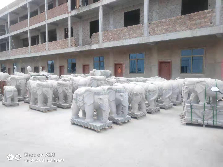 福建大象石雕哪里有|技藝精巧的福建大象石雕