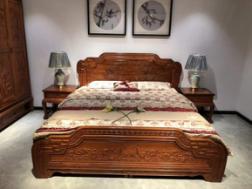 使用紅木床做家具有哪些好處?