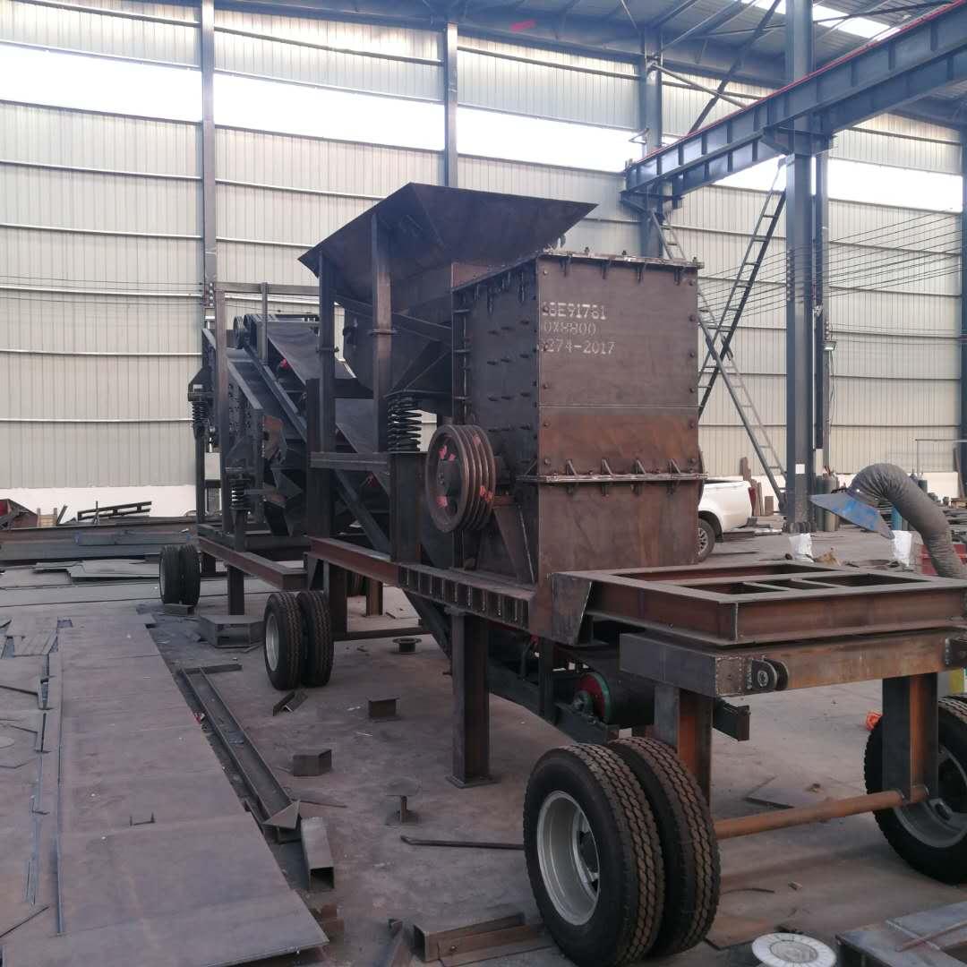 移动破碎站厂家价格——河南迪沃机械设备有限公司