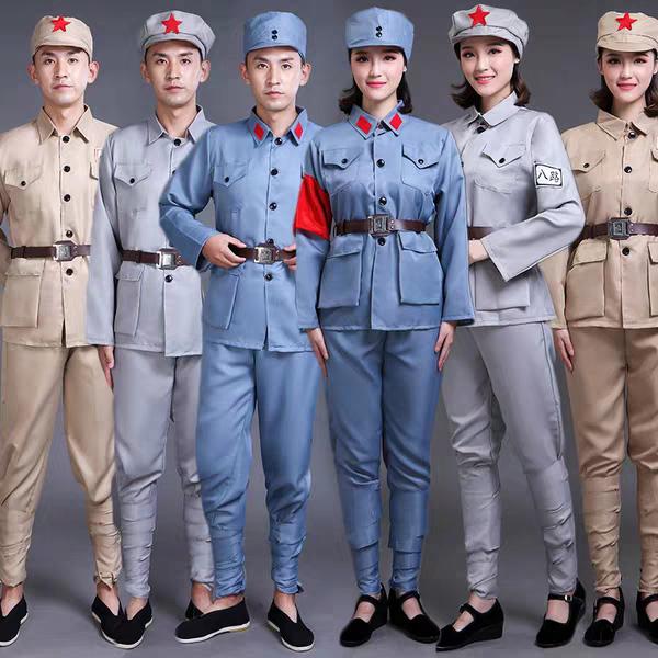 红歌大合唱服装——兰州红歌服装