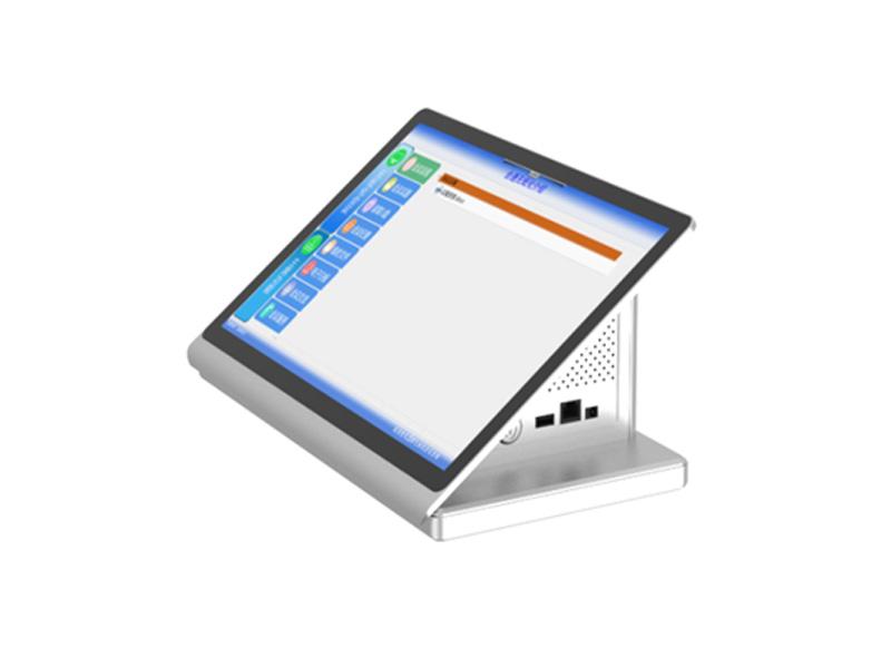 15.6寸双屏桌面式一体终端