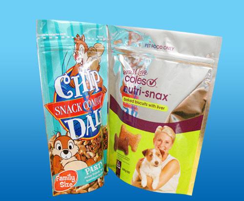 零食坚果食品包装自封自立袋批发三边封铝箔袋拉链复合袋