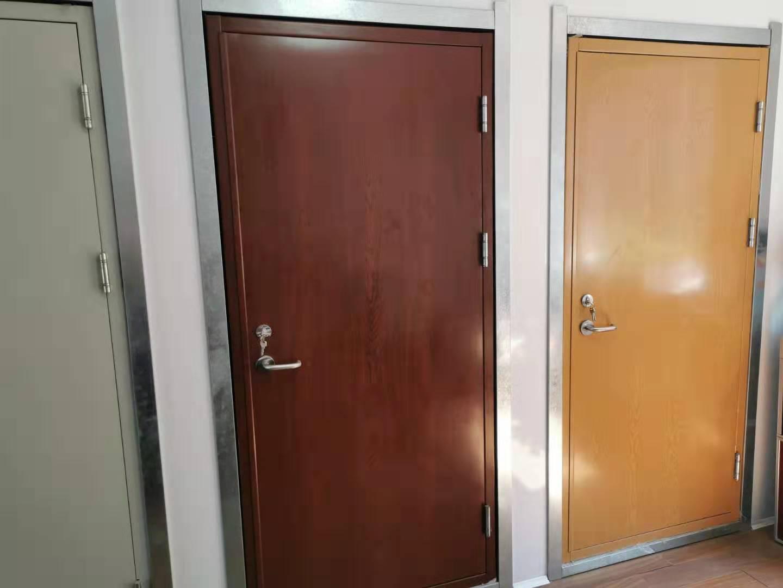 哈爾濱白鋼單元門-沈陽地區有品質的防火門