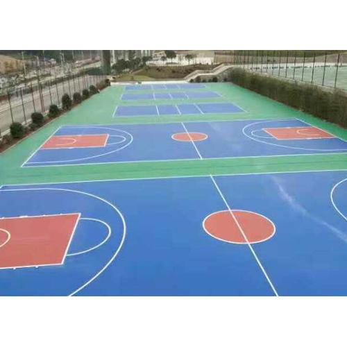 芜湖丙烯酸篮球场施工