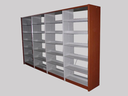 供应宁夏圣泰钢木材质好的宁夏书架|内蒙书架厂家