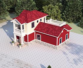 装配式建筑的前景,广西布鲁雅轻钢别墅