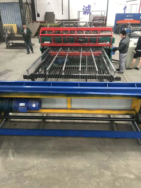 養殖網排焊機雞鴨鵝網片排焊機帶框焊網機 全自動徑緯盤絲雙漏斗