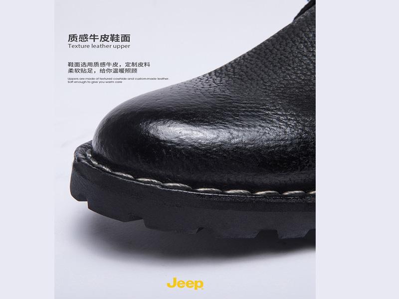 jeep吉普秋冬牛皮男鞋哪家好-廈門市新款jeep秋冬牛皮鞋批發
