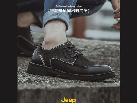 jeep商务男皮鞋_jeep秋冬牛皮鞋厂家,推荐益励jeep