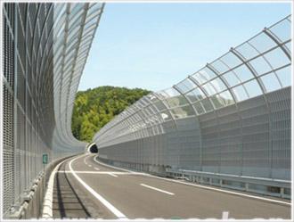 新疆隔音屏障一平米多少钱_新疆宇邦环保优良的新疆高速公路隔音板出售