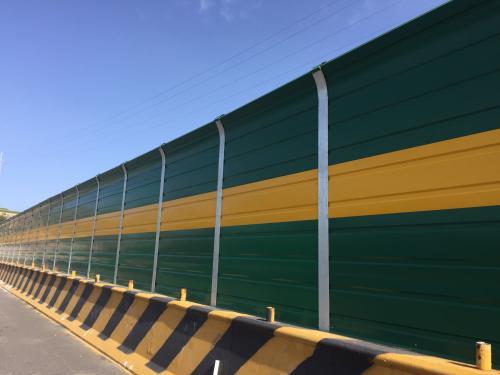西寧聲屏障立柱工程_好用的青海公路聲屏障,宇邦環保傾力推薦