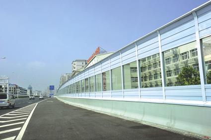 西宁声屏障立柱生产厂家-西安价格合理的青海公路声屏障哪里买
