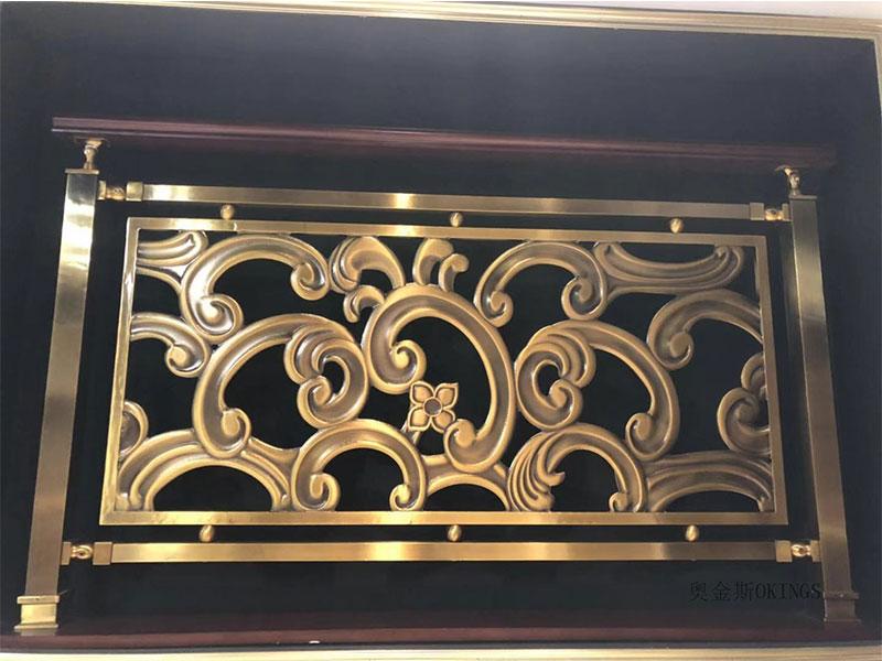 中式铝艺护栏厂家直销-哪里可以买到优良的金属楼梯护栏
