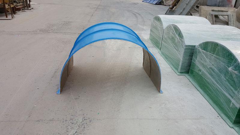 输送机玻璃钢防护罩【价格 厂家 图片 品牌】安达