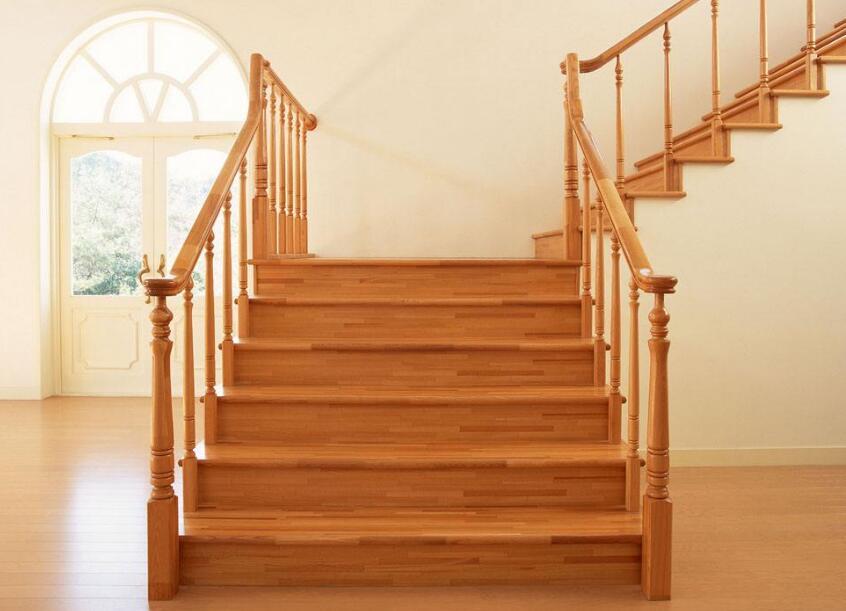 郑州家装楼梯-实木楼梯-批发厂家-美佳楼梯厂