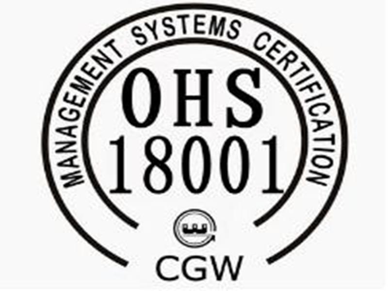 河南OHSAS18001认证费用