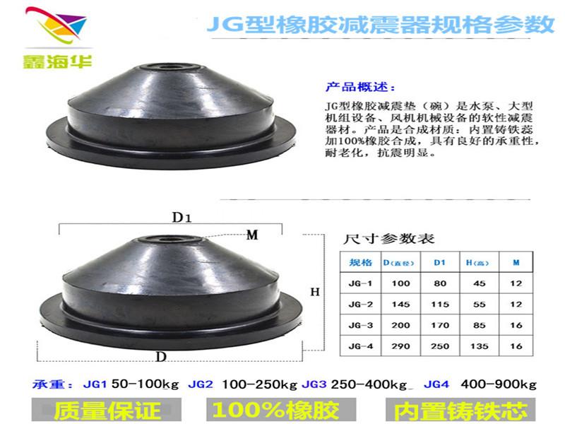 橡胶减震器制造供应商-沧州高质量的JGF型橡胶减震器-厂家直销