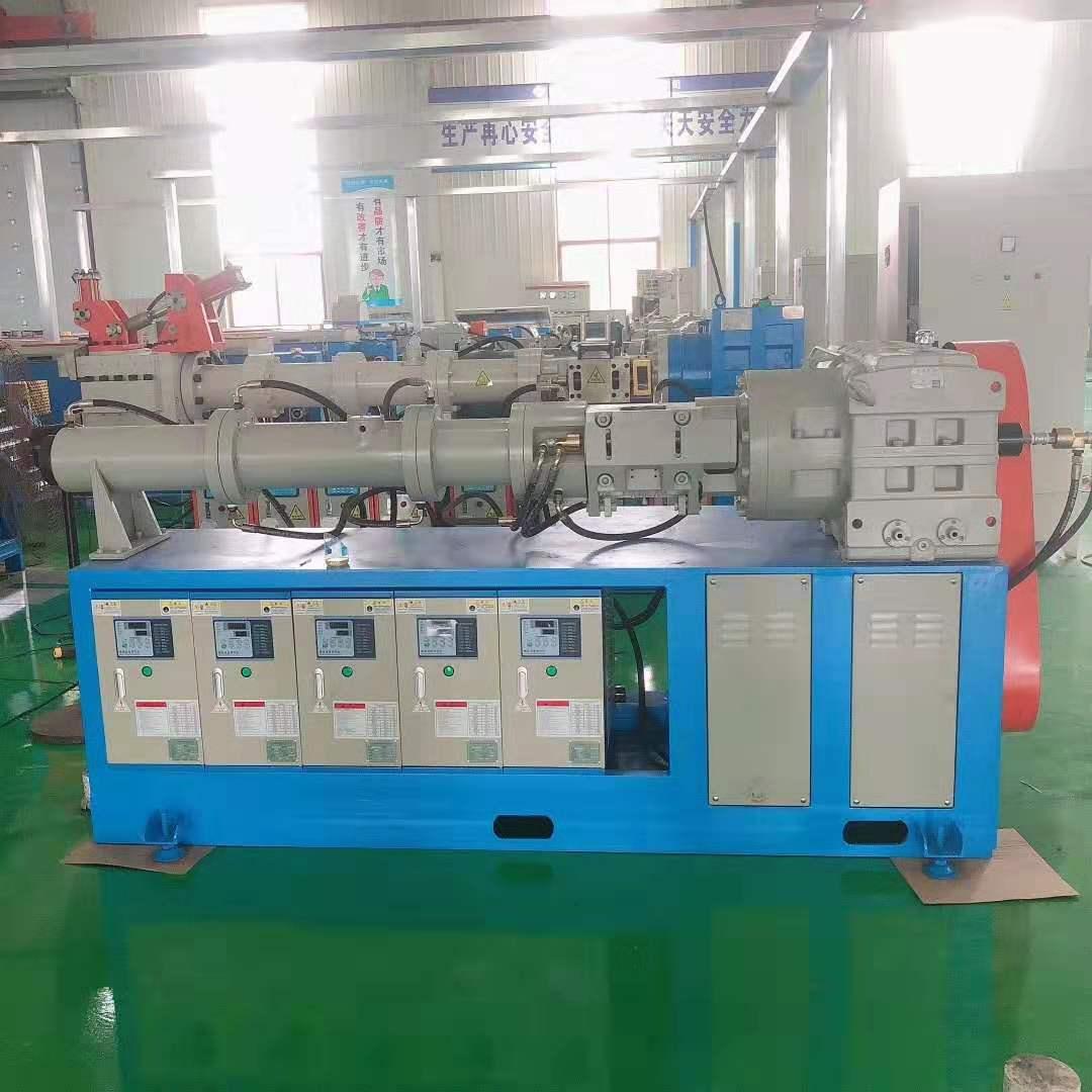销钉式橡胶挤出机,橡胶管挤出机,汽车胶管挤出生产线