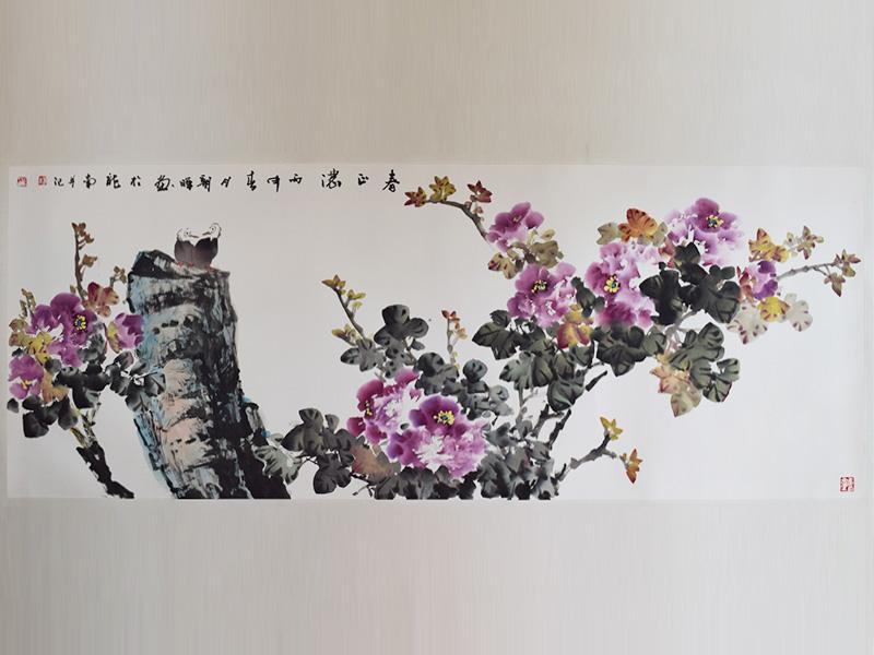 肇庆古典水墨画画廊-最新传统毛笔水墨画推荐