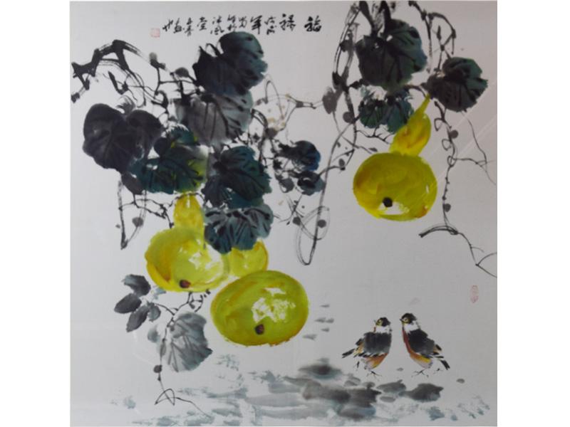 中式手繪山水畫畫廊-肇慶口碑好的傳統毛筆水墨畫出售