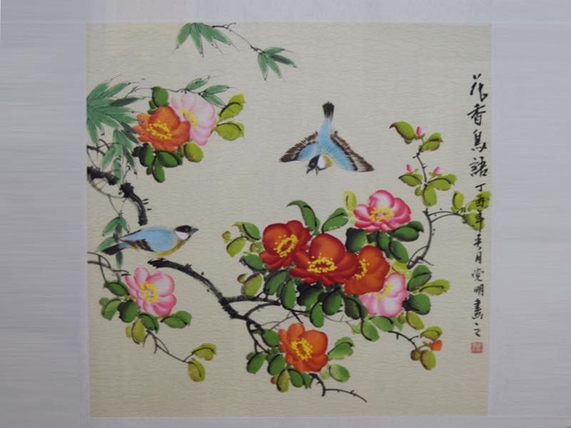 传统字画装裱画廊_传统毛笔水墨画在哪能买到