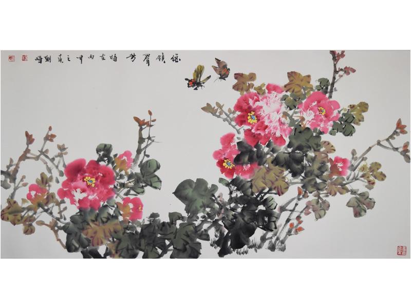 傳統國風書法作品價格-出售新品山水畫作品
