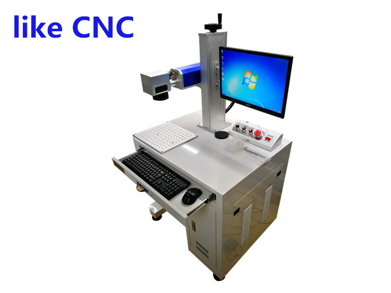 光纖激光打標機不鏽鋼金屬激光刻字機銘牌激光打碼機