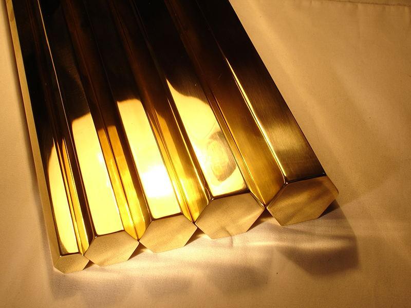 C3602实心圆铜棒,六角铜棒铜材加工