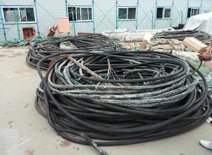 銀川光纜回收-銀川廢舊電纜高價回收找寧夏利瑪物資回收免費估價