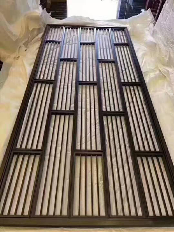 厂家定制高端不锈钢屏风隔断