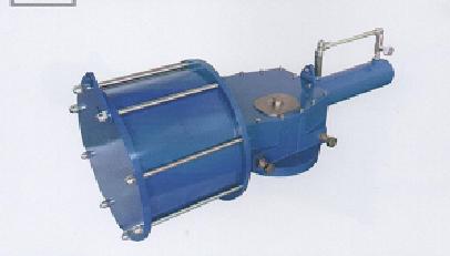 阿克苏DRG系列重载型气动执行器-专业的新疆气动执行机构制作商