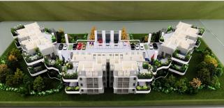 第四代生态建筑模型
